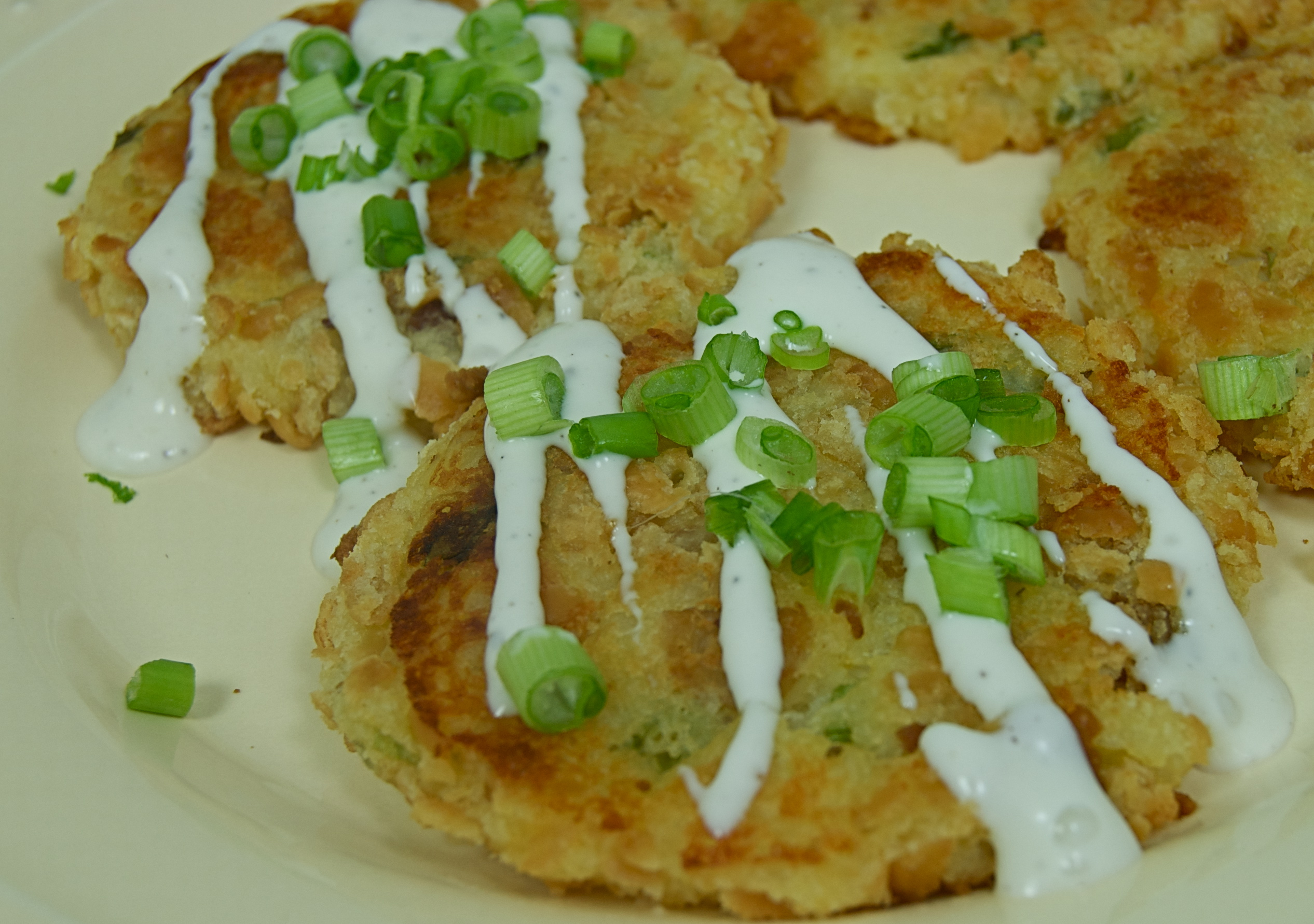 Cheese Potato Cakes