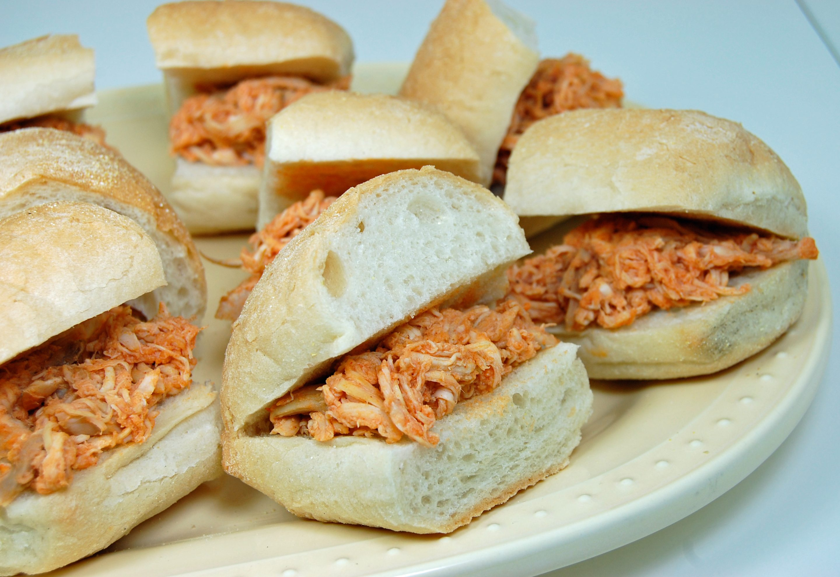 Buffalo Chicken Mini Sandwiches