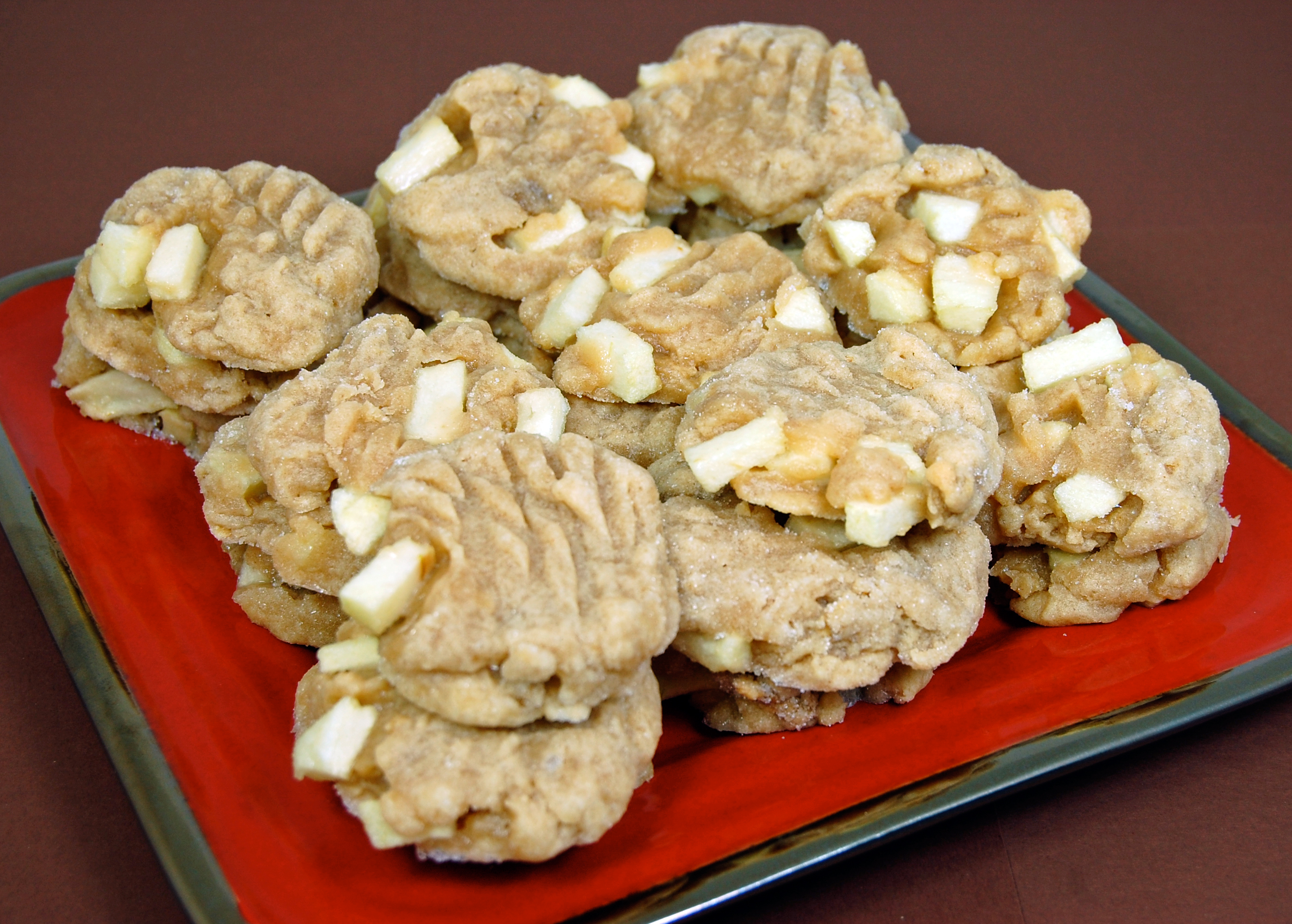 Apple Dippin' Peanut Butter Cookies 2