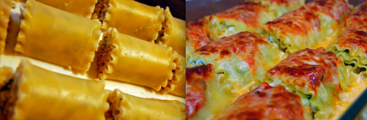 Giada's Lasagna Rolls 2