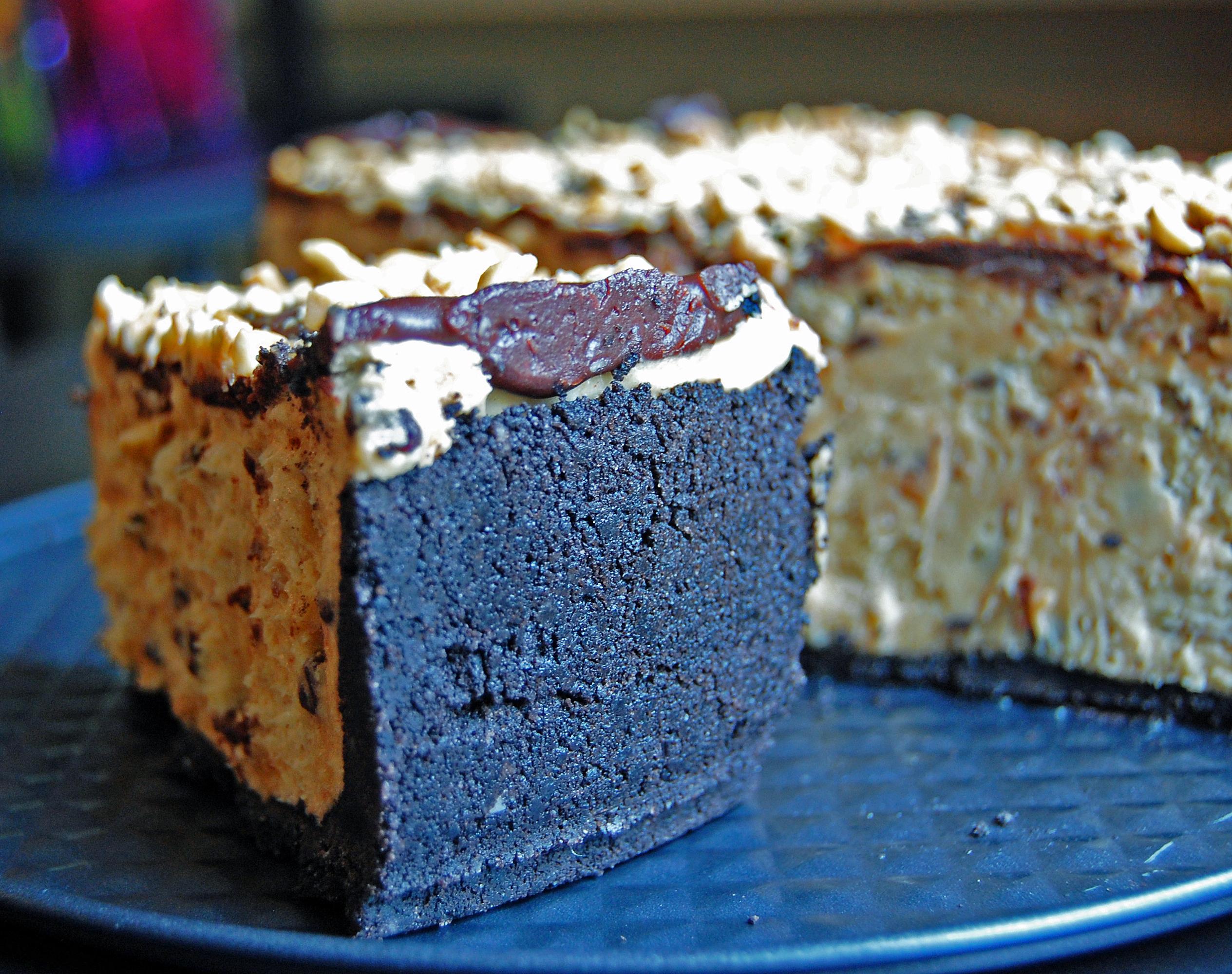 Chocolate Peanut Butter Torte Crust